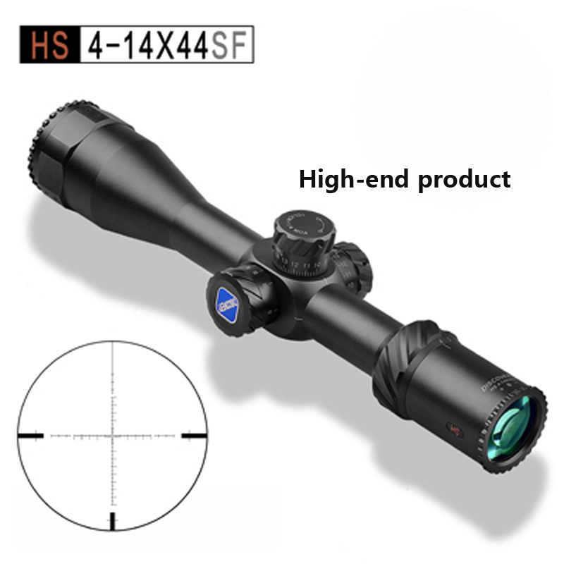 New product Discovery HS 4-14X44SF FFP MOA Jacht Schieten riflescope HD lens gun accessories our discovery island 4 dvd