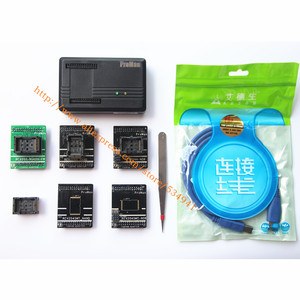 Image 3 - XGecu ProMan Professionale TL866 PLUS Programmatore + TSOP56 Adattatore + TSOP48 Adattatore Copia Nand NOR Flash Chip di Recupero di Dati programmatore