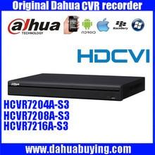 DAHUA Original 4/8/16CH Tribrid 1080 P 1U HDCVI DVR Apoyo 2HDD con dahua Logo HCVR7204A-S3/HCVR7208A-S3/HCVR7216A-S3
