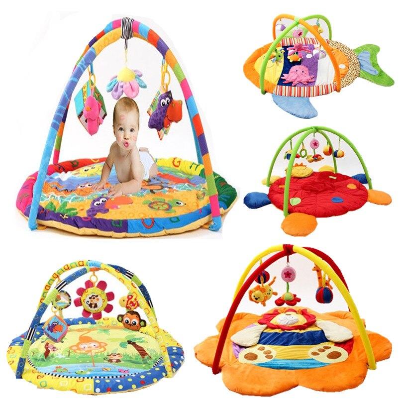 Nouveauté bébé tapis de jeu bébé musique tapis de jeu jouets éducatifs enfants tapis enfants tapis de jeu nouveau-né tapis de Gym avec cadre - 3