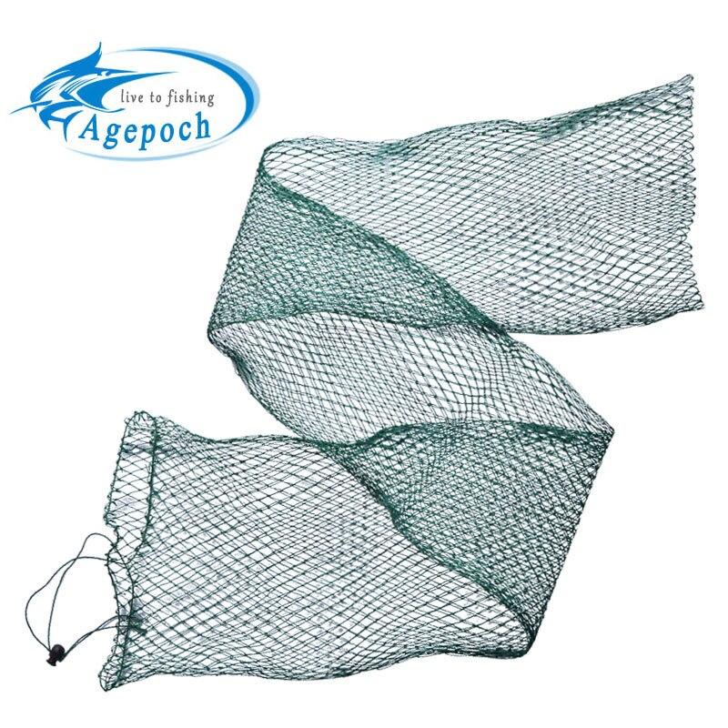 Agepoch fishing net trap fishing mesh network foldingfish for Small fishing net
