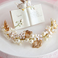 The bride hair accessory hair bands headband handmade marriage accessories wedding dress style accessories