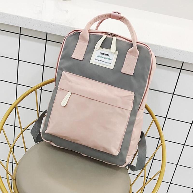 HTB1P4EAKeuSBuNjSsplq6ze8pXak Yogodlns Campus Women Backpack School Bag for Teenagers College Canvas Female Bagpack 15inch Laptop Back Packs Bolsas Mochila