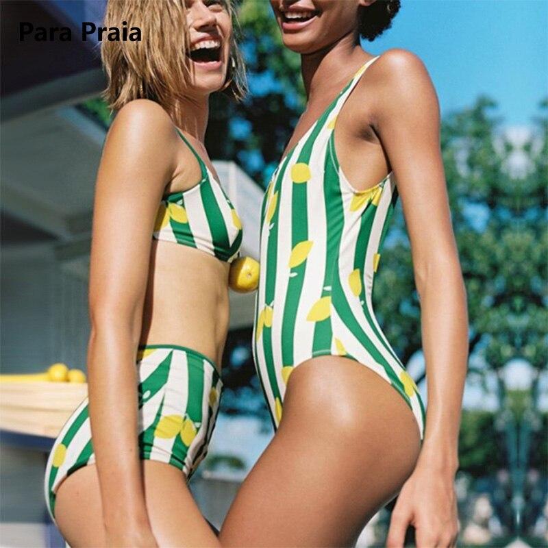 2018 New Retro Striped African Swimwear Backless One Piece Swimsuit Monokini Biquini High Waist Swimsuit Push-up Two piece Suit push up swimwear one piece swimsuit one piece swim beach bikini 2016 biquini bath swimming suit for women high waist swimsuit