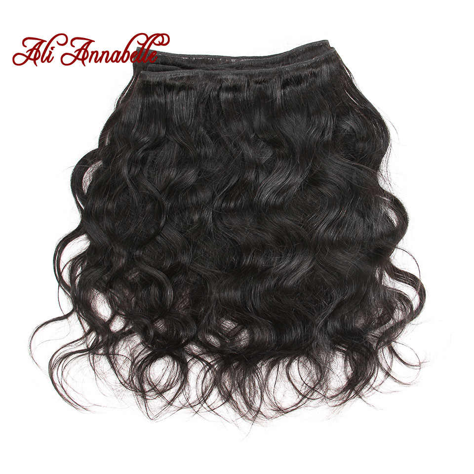 """Malaysian Hair Body Wave 3 Bundles With Lace Closure 100% Human Hair Weave Bundles With 4x4"""" Closure Free/Middle Part Remy Hair"""