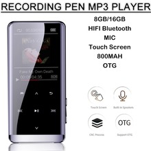 MP3 Player Bluetooth MP3 Mini MP3 Lossless HIFI 5D Touch Screen Portable New MP5