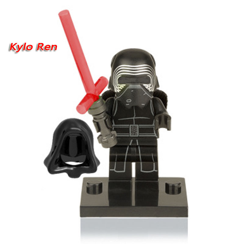 XH144 Kylo Ren figures Single Sale Star Wars Force Awakens Jedi Knight Building Blocks Models & Building Toys Gift For Children 2pcs halogen bulb h7 55w super xenon white fog lights h7 car headlight lamp high power car light source parking 6000k auto
