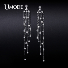 UMODE 2016 New Arrival Fashion Imitation Diamond Dangle Earrings For Women Jewelry Boucle D'Oreille Femme Christmas Gift AUE0240