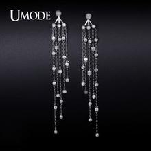 UMODE 2016 New Arrival Fashion Imitation Diamond Dangle Earrings For Women Jewelry Boucle D Oreille Femme