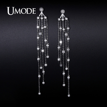 UMODE 2017 New Arrival Fashion Crystal Dangle Earrings For Women Jewelry Boucle D Oreille Femme Christmas