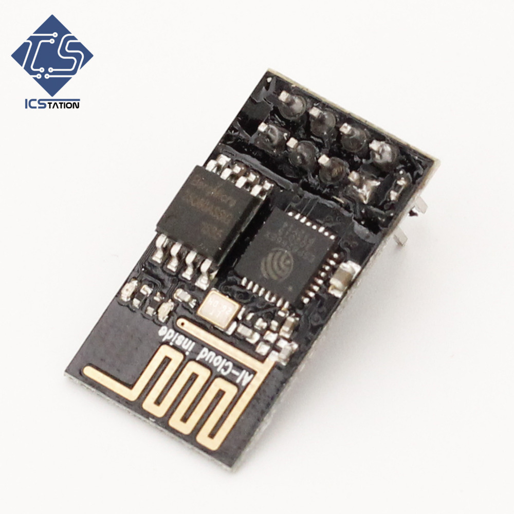 ESP-01 ESP8266 ESP01 Serial WIFI Wireless Transceiver Module For Arduino Raspberry Pi 3 Internet Of Things Wi-fi Model 3.3V esp 07 esp8266 wifi serial transceiver module