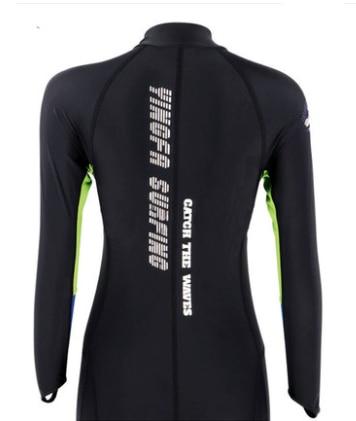Femmes chaud tissu crème solaire méduse plongée sous-marine combinaison une pièce combinaison Mergulho buceo roupa feminina maillots de bain maillot de bain - 5