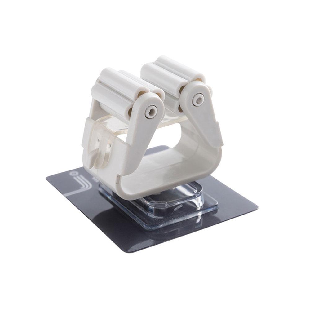 Вешалка держатель для швабры зажим для швабры Органайзер настенный портативный Настенный Съемный