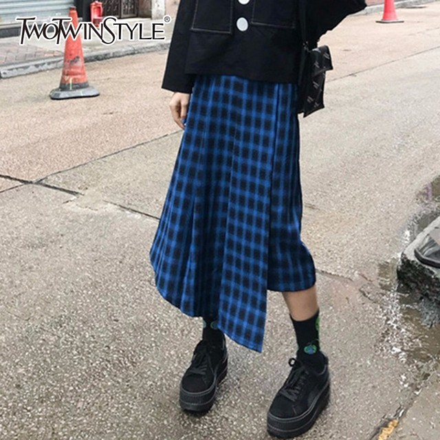 patchwork skirts long