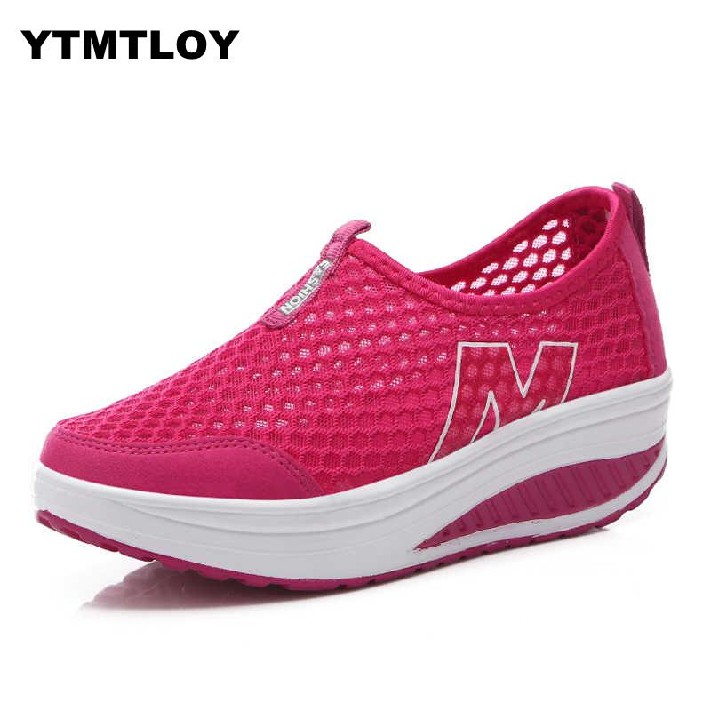 Women Footwear Shoes Shake And Summer Lace Spring Cool-Net Female Breathable