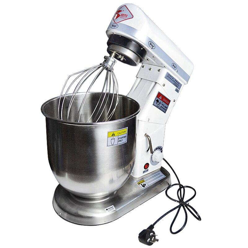 220 V 10L électrique Stand pâte mélangeur ménage Commercial planétaire mélangeur oeuf batteur pain mélangeur pour professionnel pâte mélangeur