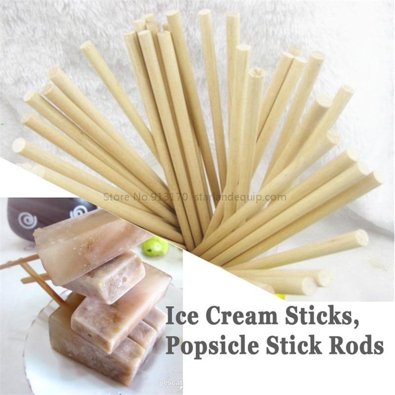 Popsicle Rod Stick Ice Cream Rod Wooden Ice-lolly Stick Length150mm Diameter5mm, 50pcs/lot popsicle rod stick ice cream rod wooden ice lolly stick length120mm diameter5mm 50pcs lot