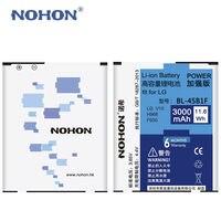 Originales NOHON Batería Li-ion Para LG Móvil V10 H961N H968 F600 BL-45B1F Recargable de Alta Capacidad de Reemplazo 3000 mAh Bateria