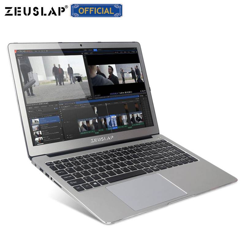 ZEUSLAP 15.6inch 8GB RAM+128GB SSD+1TB HDD Intel Core I7-6500U Nvdia GT940M Ultrathin Metal Gaming Laptop Notebook Computer