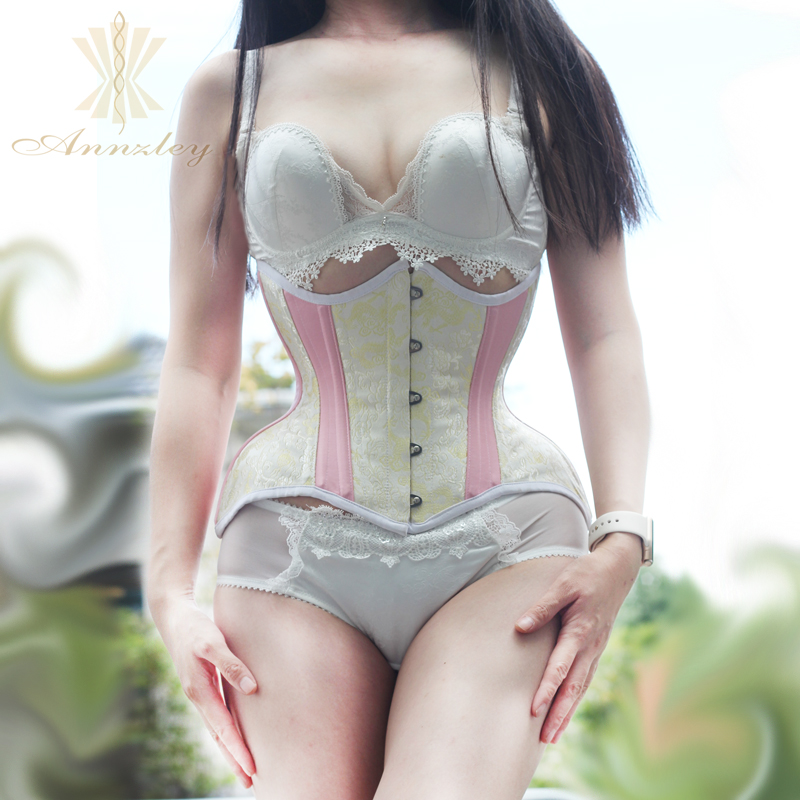 Annzley Corset 24 Pieces Steel Boned Daisy Wedding Corsets