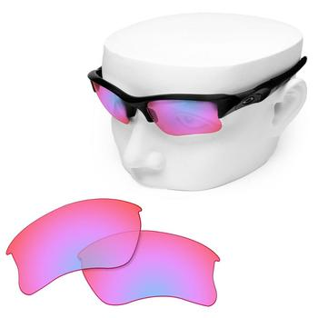 OOWLIT Polarized Replacement Lenses of Cobalt Pink for-Oakley Flak Jacket XLJ Sunglasses oowlit polarized replacement lenses of blue gradient for oakley frogskins sunglasses