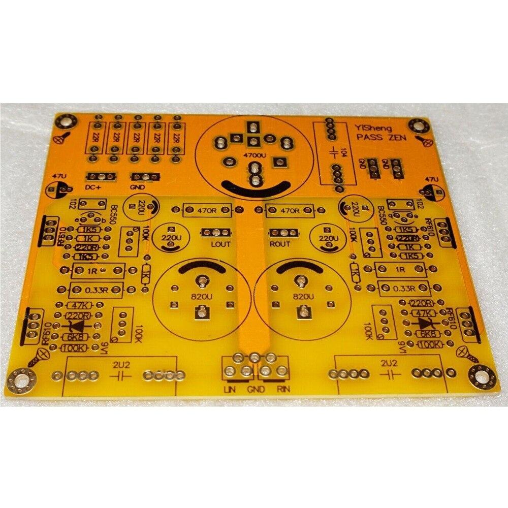 PCB For PASS ZEN Single-end Class A Headphone Amplifier 5w DC 24V Board