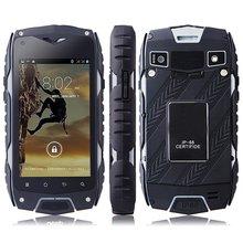 Czarny 2500 mAh Bateria Oryginalna Jeep IP68 wodoodporna Z6 Smart Phone 4.0 cal ekran Dual Core 1.3 GHz 512 MB 4 GB GPS