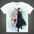 Sword Art Online T-shirts kawaii Japanese Anime tshirt Manga Shirt Cute Cartoon Kirito Kazuto Cosplay shirts 37161946984 tee 161