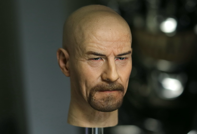 1/6 scale figure doll head shape for 12 action figure doll accessories Breaking Bad Walter Bryan Cranston male Head carved 1 6 scale figure doll head shape for 12 action figure doll accessories iron man 2 whiplash mickey rourke male head carved