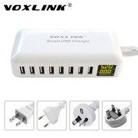VOXLINK Smart USB Charging HUB 8 Port Home Travel Wall Charger 40W 8A Multi Port Desktop