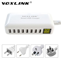 VOXLINK Smart USB Charging HUB 8 Port Home Travel Wall Charger 40W 8A Multi Port Desktop