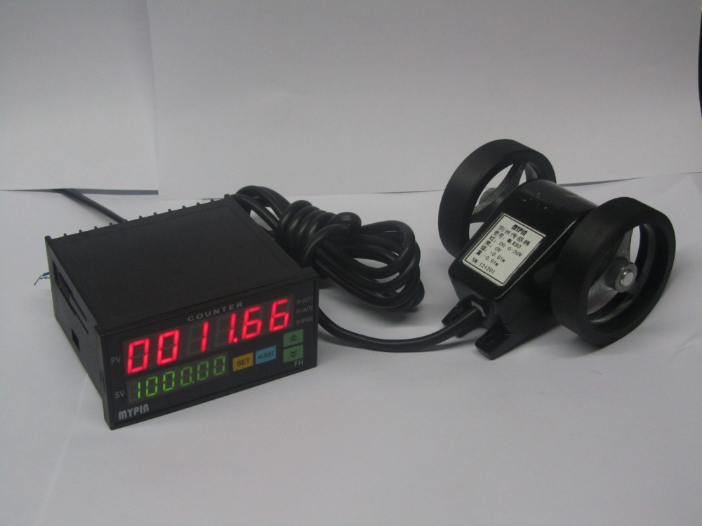 цена на Cable Meter Counter Code counter Meter counting wheel Length Measerement Measure In Meter And Yard