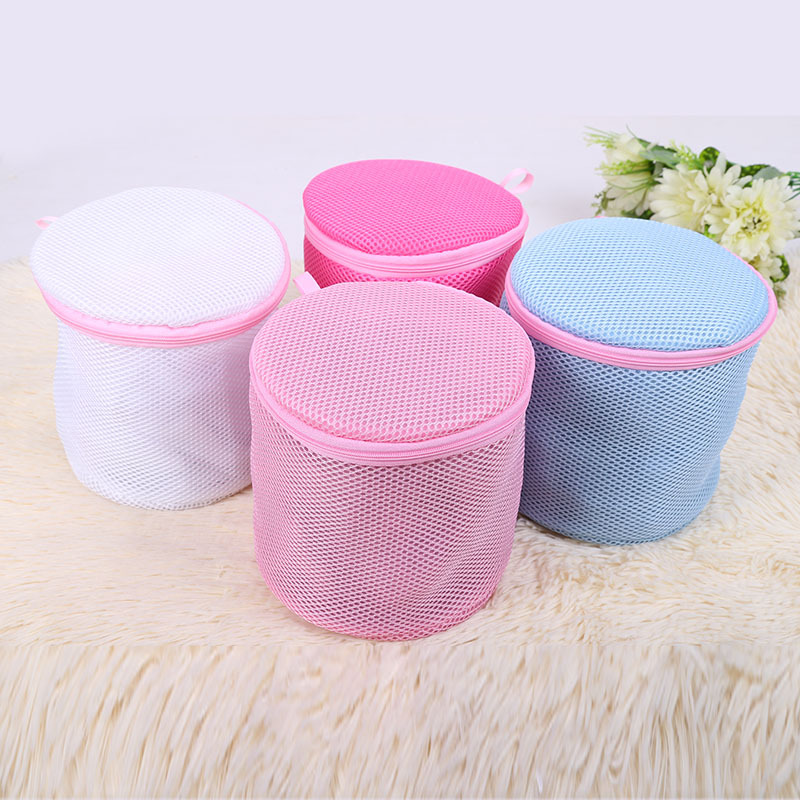 1 PC Variety Of Colors Nursing Care Bags Wash Bags Underwear Solid Color Bra Laundry Bag BTRQ0561