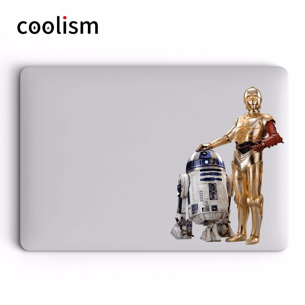 Csillagok háborúja Darth Vader Laptop matrica MacBook Decal Air Pro - Laptop kiegészítők - Fénykép 3