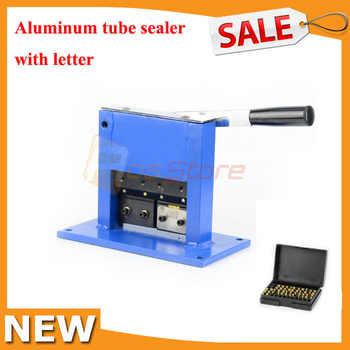 Aluminum Tube Sealer Aluminum Laminate Tube Sealing Machine Manual Crimping Sealer with Expiration Date And Letters - SALE ITEM Tools