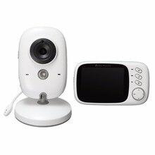 Safurance 3.2 дюймов 2.4 Г Беспроводной Электроники Детские Камера 2 Способ Аудио 5 М ИК Температуры Колыбельные Портативный Baby Monitor