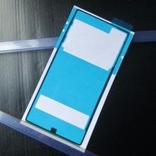 Blingird 2 шт./лот Новинка клейкая лента Стикеры для Sony Xperia Z5 E6603 E6633 E6653 E6683 задняя крышка корпуса батарейного отсека Крышка