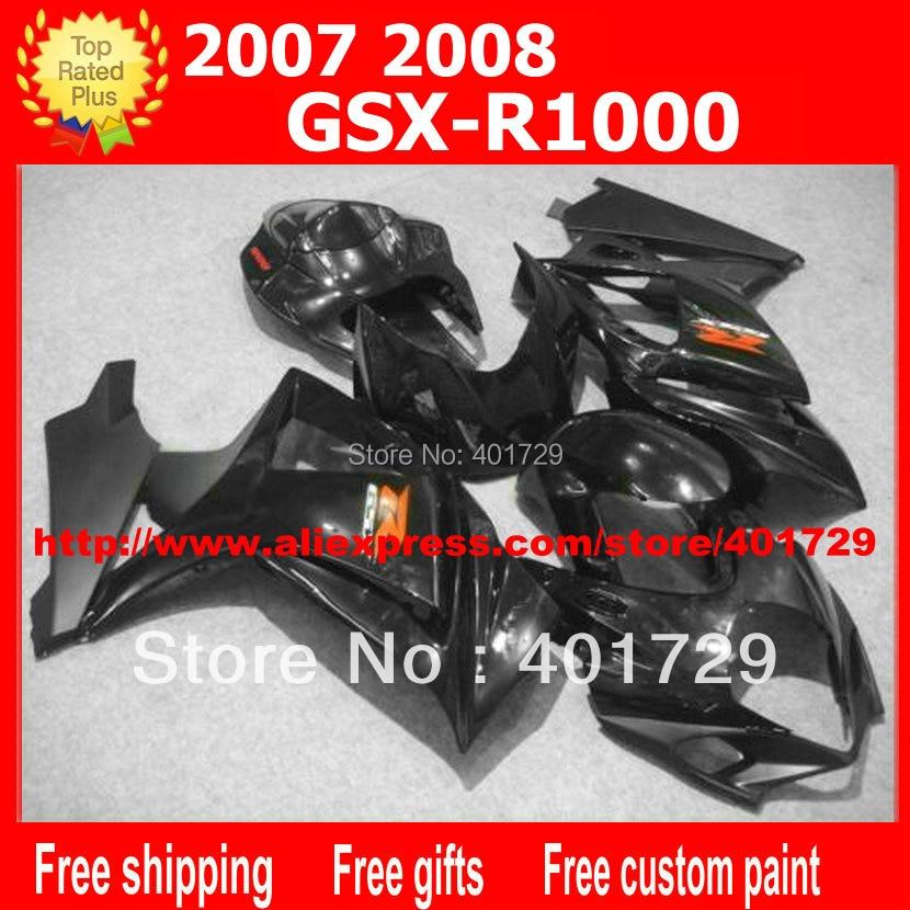 ⃝Carrocería carenados 7 regalos para Suzuki GSXR1000 GSX-R1000 K7 ...
