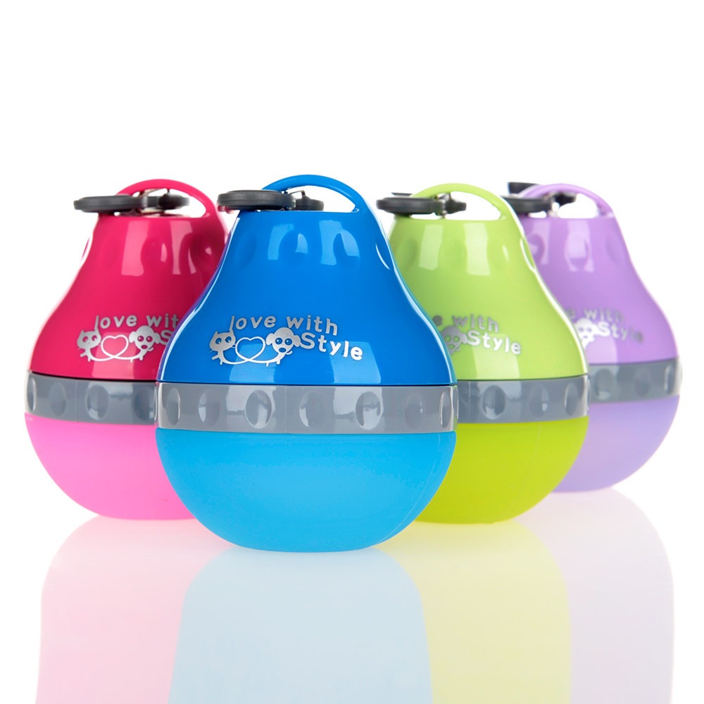 HOOPET Pet Dog Water Bottle For Small Dogs Travel Drinking Fountains Portable Silicone Teddy Cat Outdoor