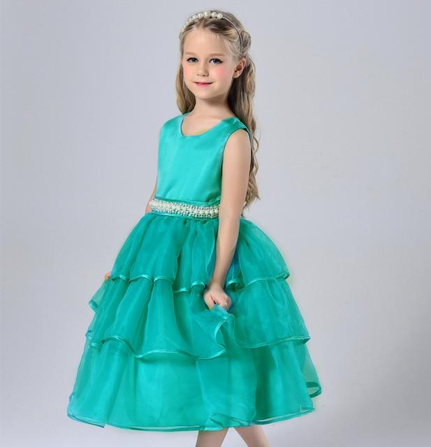 Toddler Flower Girl Dresses Teal