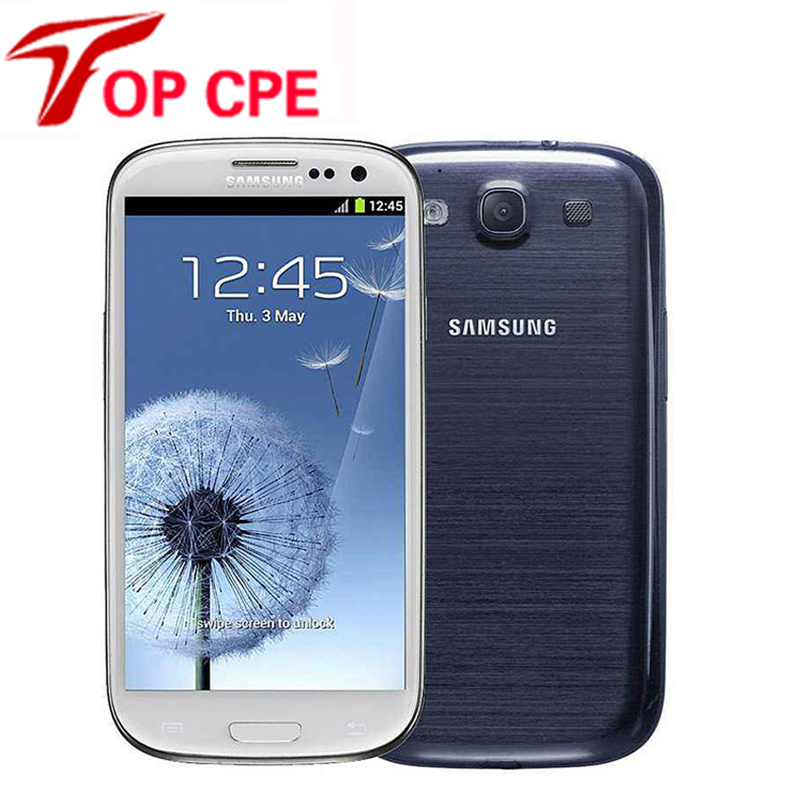 Unlocked samsung galaxy S3 i9300 original Mobile Phone Quad core 4 8 8MP WIFI 3G 4G