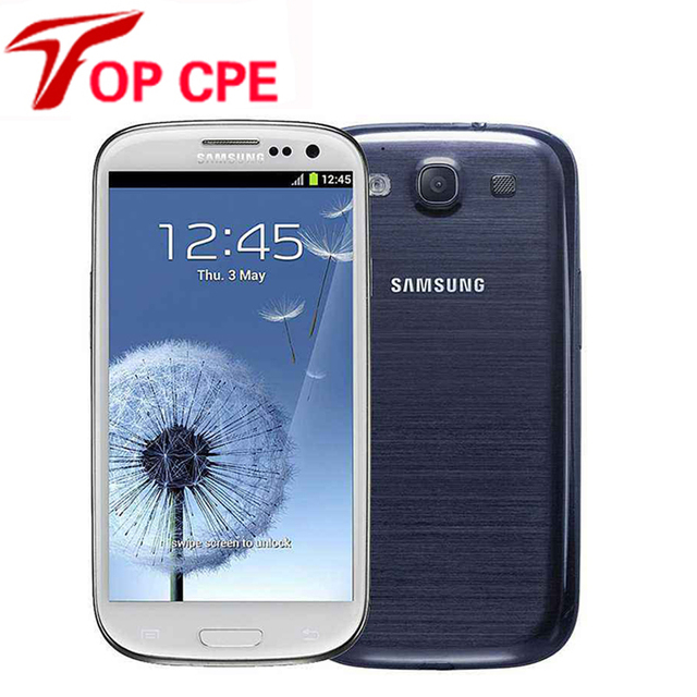 "unlocked samsung galaxy S3 i9300 original Mobile Phone Quad-core 4.8"" 8MP WIFI3G&4G GSM Android GPS 16GBROM Free shipping"