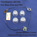 ThumbSticks LED Light Up Mod с Прозрачной Thumbsticks Крышка для PS4 и КОНТРОЛЛЕР XBOX ONE