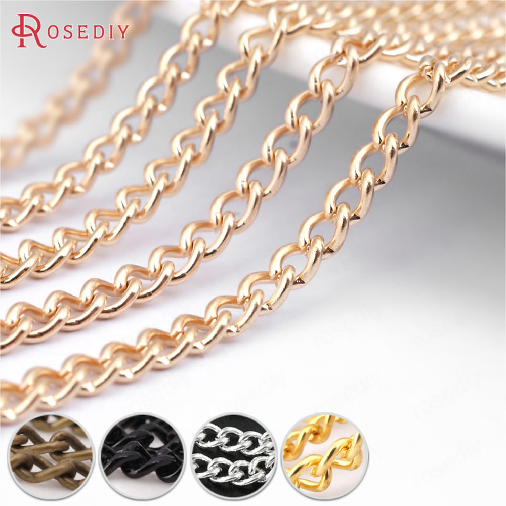 40 Pendant Connector 3x6mm for Necklace Chains Silver Gold Simple Connection