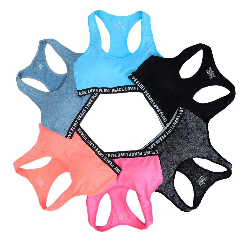 AfroditaUme Women Crop   Tops   Cotton   Tank     top   Bralette Padded Fitness Bra Vest
