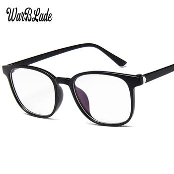 Oko ramki okularów dla mężczyzn kobiety panie płaskie lustrzane przezroczysta oprawa dla okulary dla krótkowzrocznych okulary retro rama męskie akcesoria 2019 tanie i dobre opinie WarBLade Z tworzywa sztucznego Unisex Stałe B-MN15990 Chiny (kontynentalne) FRAMES Okulary akcesoria Eyewear Accessories
