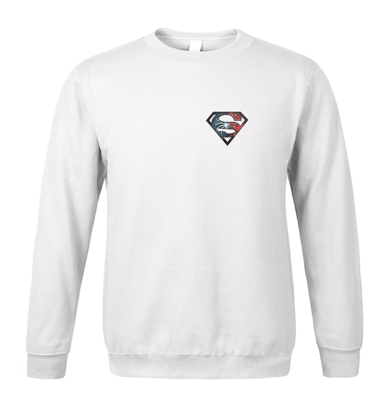 hot sale Superman sweatshirt 2018 spring winter fashion men hoodies fleece high quality brand clothing tracksuit men sportswear