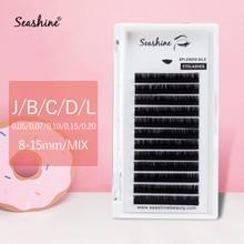 Seashine Individual Eyelashes Extension Volume Lash Faux Mink Eyelash Supplies Classic Single Natural Soft