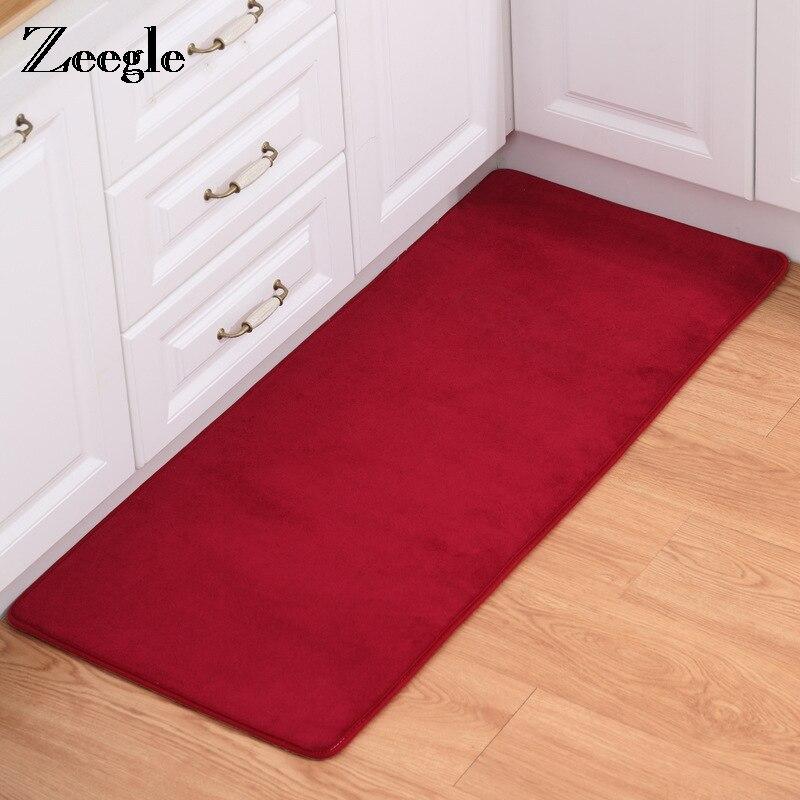 Zeegle Kitchen Carpet Floor Mat Bedroom Bedside Mat Anti ...