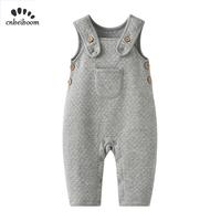 2019 high quality baby overalls boys and girls bib Korean version of the warm clothes infant rompers kids 100% cotton jumpsuits